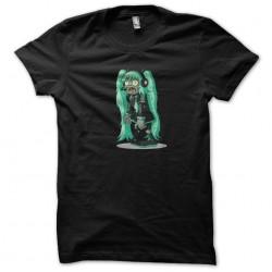 t-shirt miku zombie black...