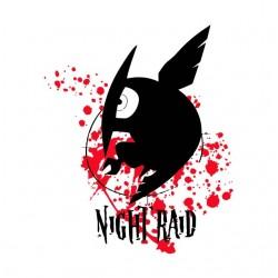 tee shirt night raid Akame...