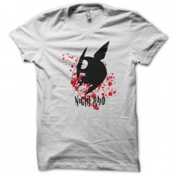 raid Akame Ga Kill logo white sublimation t-shirt