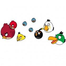 tee shirt the angry birds...