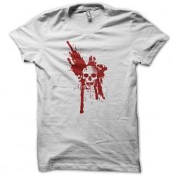 tee shirt tache de sang sur crane  sublimation