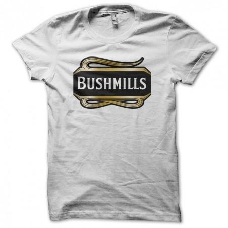 Bushmills Irish Whiskey white sublimation t-shirt