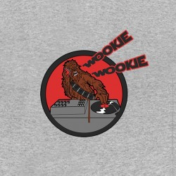 wookie tee shirt that mix gray sublimation