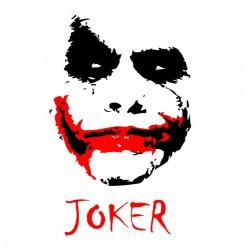white Joker t-shirt...