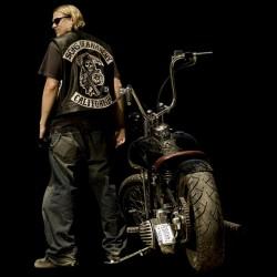 jax teller t-shirt sounds of anarchy black sublimation