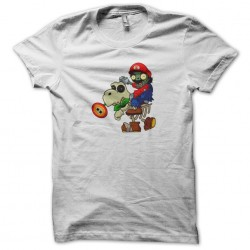 tee shirt mario parodie zombie  sublimation