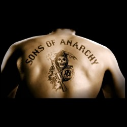 t-shirt sounds of anarchy tattoo jax teller black sublimation