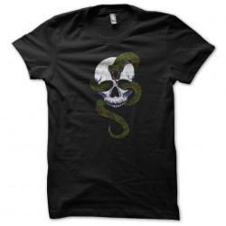 shirt Snake skull black sublimation