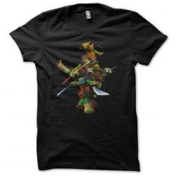 shirt turtle ninja black...