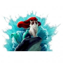tee shirt cat parody little...