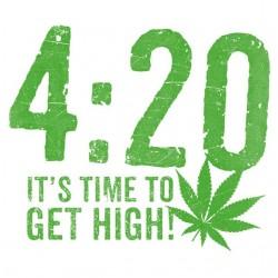 Tee Shirt 420 cannabis weed...