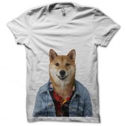 tee shirt chien qui a la classe  sublimation