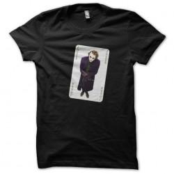 t-shirt joker card black...