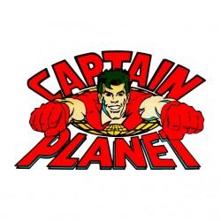 Captain Planet white...