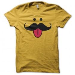 Mr Mustache yellow...