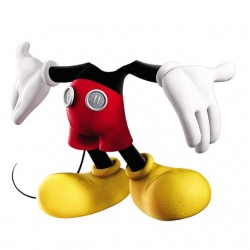 t-shirt mickey mouse loses...