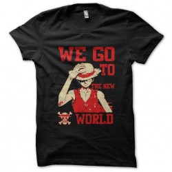 one-piece luffy t-shirt we...