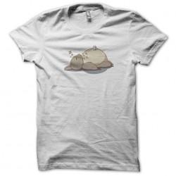 t-shirt lazy totoro white...