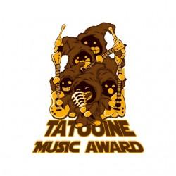 t-shirt tatooine music award white sublimation