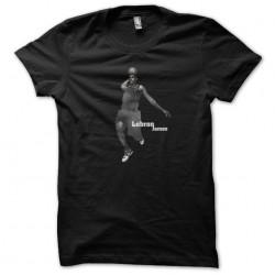 t-shirt lebron james black...