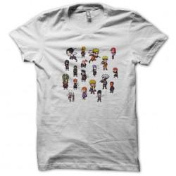 naruto t-shirt white sublimation