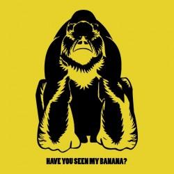 Gorilla shirt have you seen my banana yellow sublimation