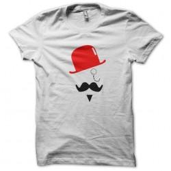 tee shirt Mr moustache  sublimation