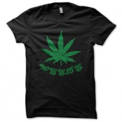 tee shirt weeds black...