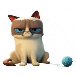 Grumpy Cat t-shirt white...