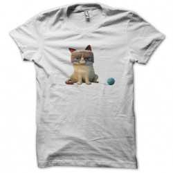 Grumpy Cat t-shirt white sublimation