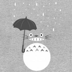 tee shirt rain totoro gray sublimation