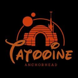 t-shirt Tatooine black sublimation