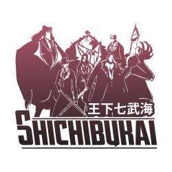 shichibukai white sublimation t-shirt