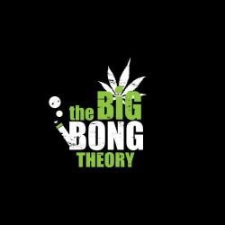 shirt the big bong theory black sublimation