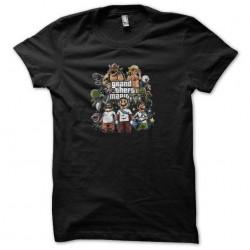 tee shirt grand theft mario...