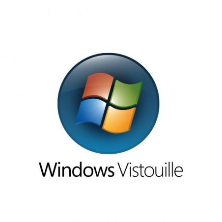 Tee shirt Windows Vista parodie Vistouille  sublimation