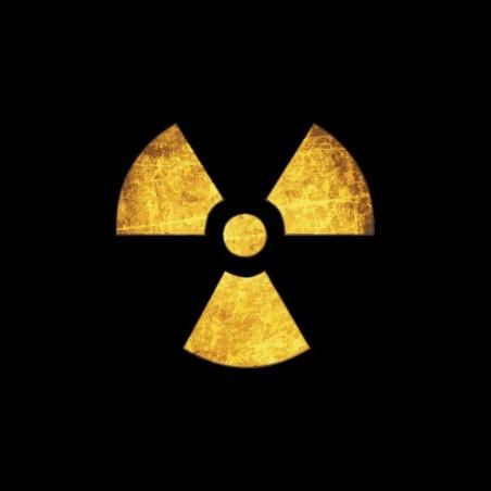 Tee shirt nucléaire symbole grungy  sublimation
