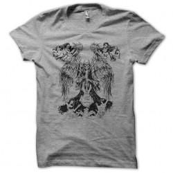 tee shirt skull guitar gris...