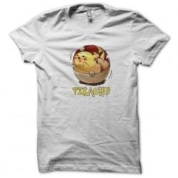 Pikachu pokeball tee white...