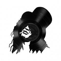 N Guns N Pink Slipper T-Shirt in White Sublimation Vinyl