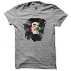 bob marley t-shirt in gray...