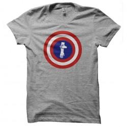 tee shirt captain quenelles...