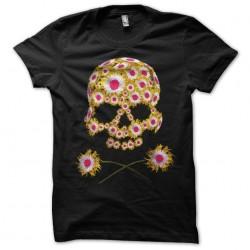 tee shirt Flower Skull...