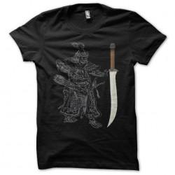 T-shirt Subotai saber Conan the Barbarian black sublimation