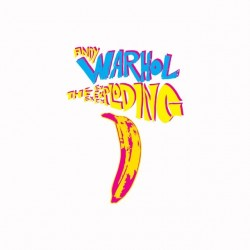 Andy Warhol banana white...