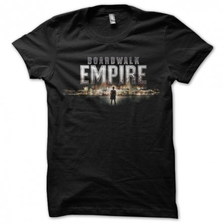 Boardwalk Empire The Birth T-Shirt, High Times and Corruption of Atlantic City Black Sublimation