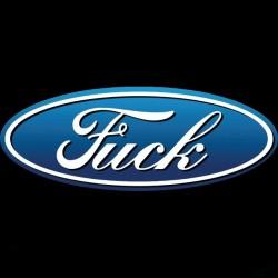 T-shirt parody ford fuck...