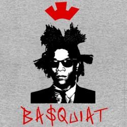 basquiat gray sublimation t-shirt