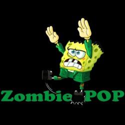 Zombie pop shirt black sublimation