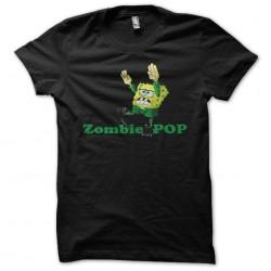 Zombie pop shirt black...